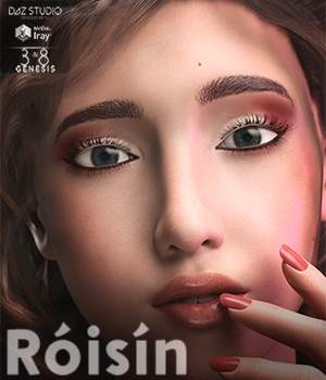 Roisin for Genesis 3 and 8 Females 3D Figure Assets MavenGames