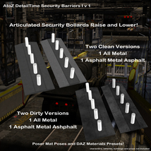 AtoZ DetailTime Roadway Security I v1 for Poser and DS image 1