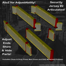 AtoZ DetailTime Roadway Security I v1 for Poser and DS image 4