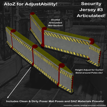 AtoZ DetailTime Roadway Security I v1 for Poser and DS image 5
