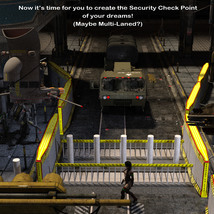 AtoZ DetailTime Roadway Security I v1 for Poser and DS image 10