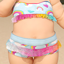 SublimelyVexed Little Anise Swimsuit G8F image 3