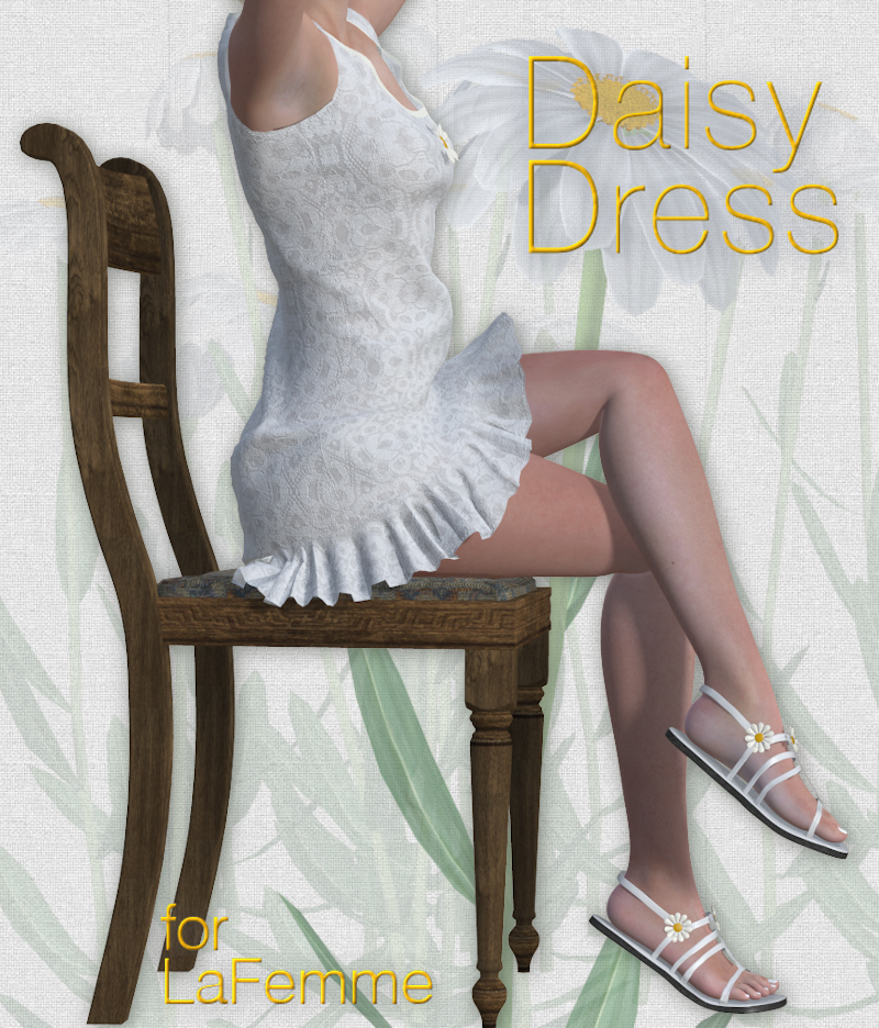 Daisy Dress for La Femme by Tipol