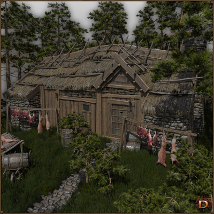 Medieval Small Village Butchery image 2