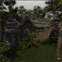 Medieval Small Village Butchery image 3