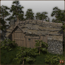Medieval Small Village Butchery image 4