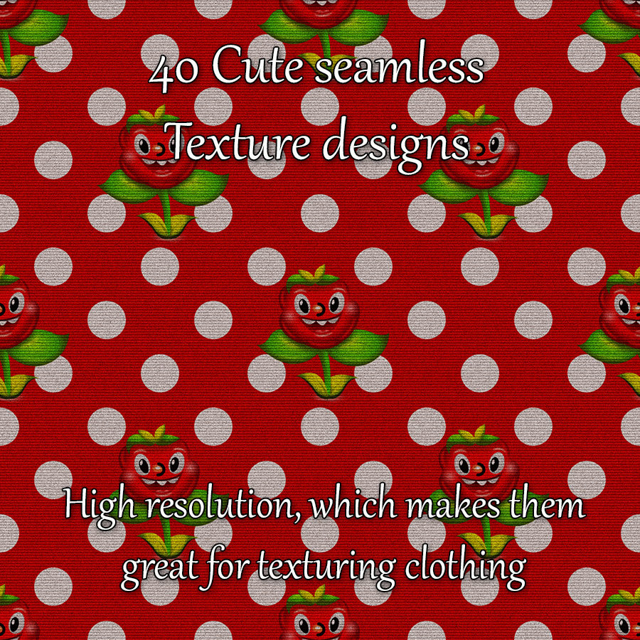 Cute Seamless Patterns by adarling97