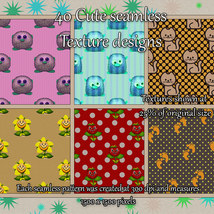 Cute Seamless Patterns image 3