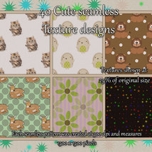 Cute Seamless Patterns image 4