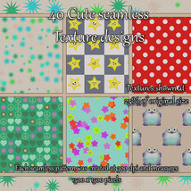 Cute Seamless Patterns image 5