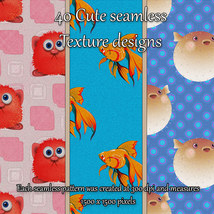 Cute Seamless Patterns image 7