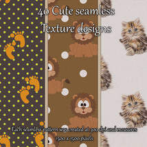 Cute Seamless Patterns image 8