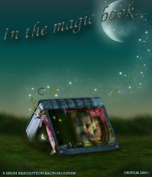 In the magic book... 2D Graphics ornylia