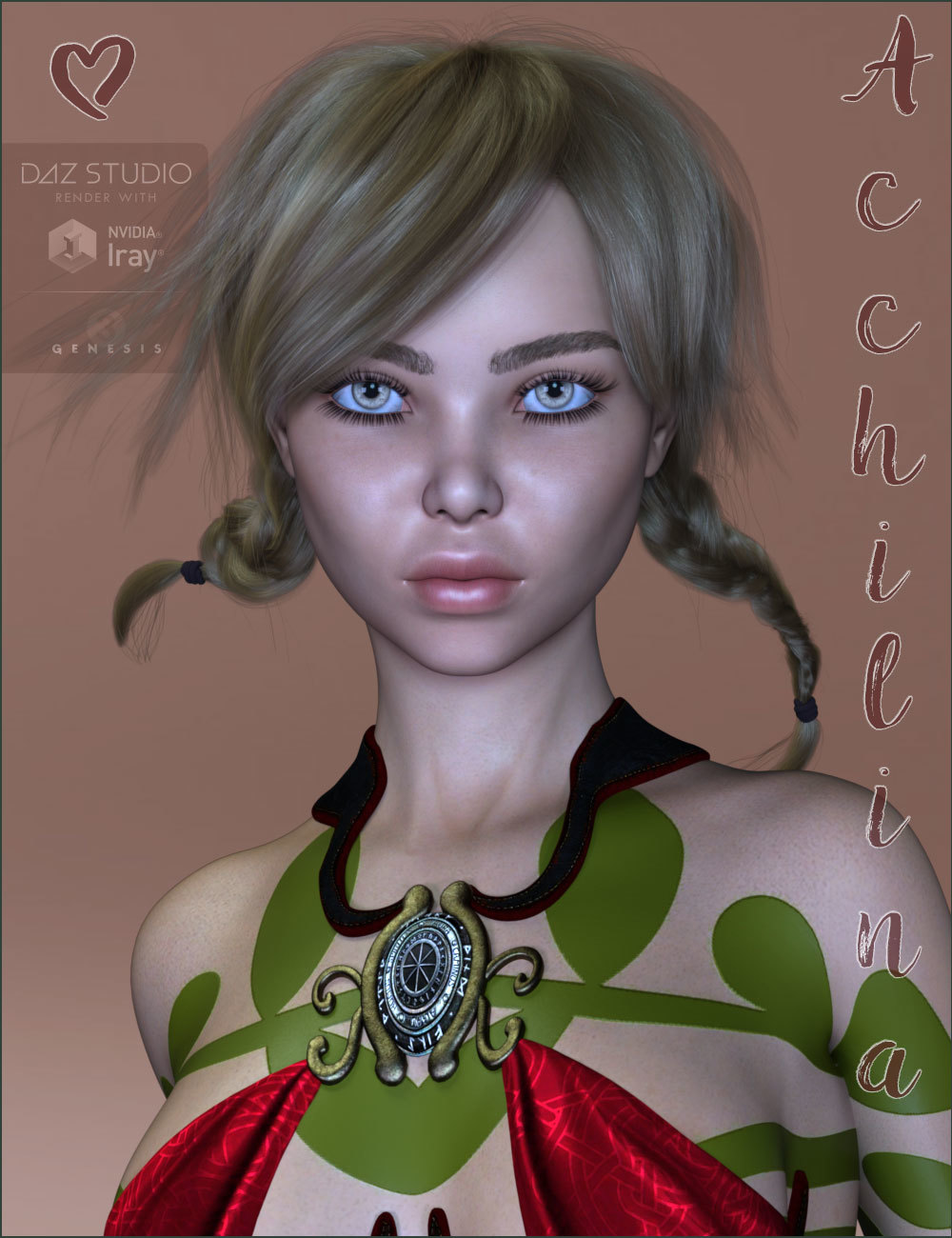 TDT-Acchilina for Genesis 3 Female