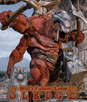 Sledge for Daz Studio 3D Models sixus1