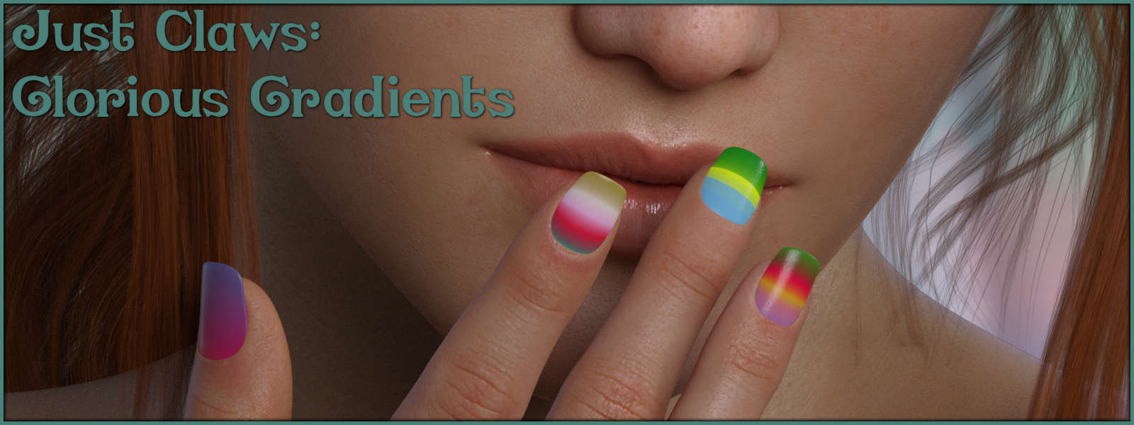Just Claws 02: Glorious Gradients L.I.E and Merchant Resource for G8F