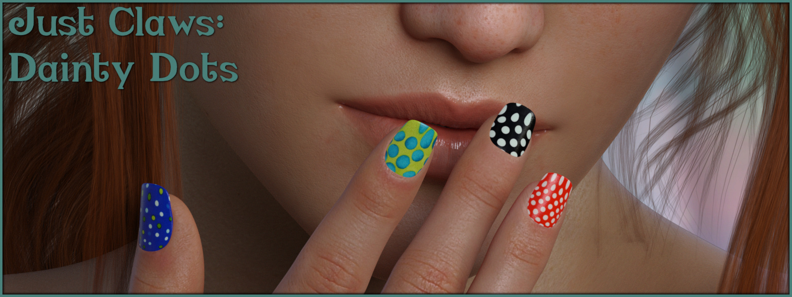 Just Claws 05: Dainty Dots L.I.E and Merchant Resource for G8F
