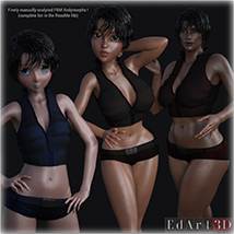 SciFi Clothing Set 2 for G8F image 3