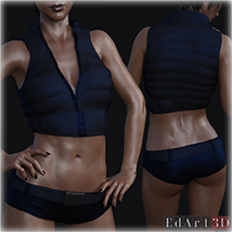 SciFi Clothing Set 2 for G8F image 5