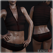 SciFi Clothing Set 2 for G8F image 6