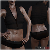 SciFi Clothing Set 2 for G8F image 7