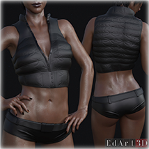 SciFi Clothing Set 2 for G8F image 8