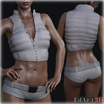 SciFi Clothing Set 2 for G8F image 9