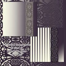 Decorative Border PNGs and Backgrounds image 11