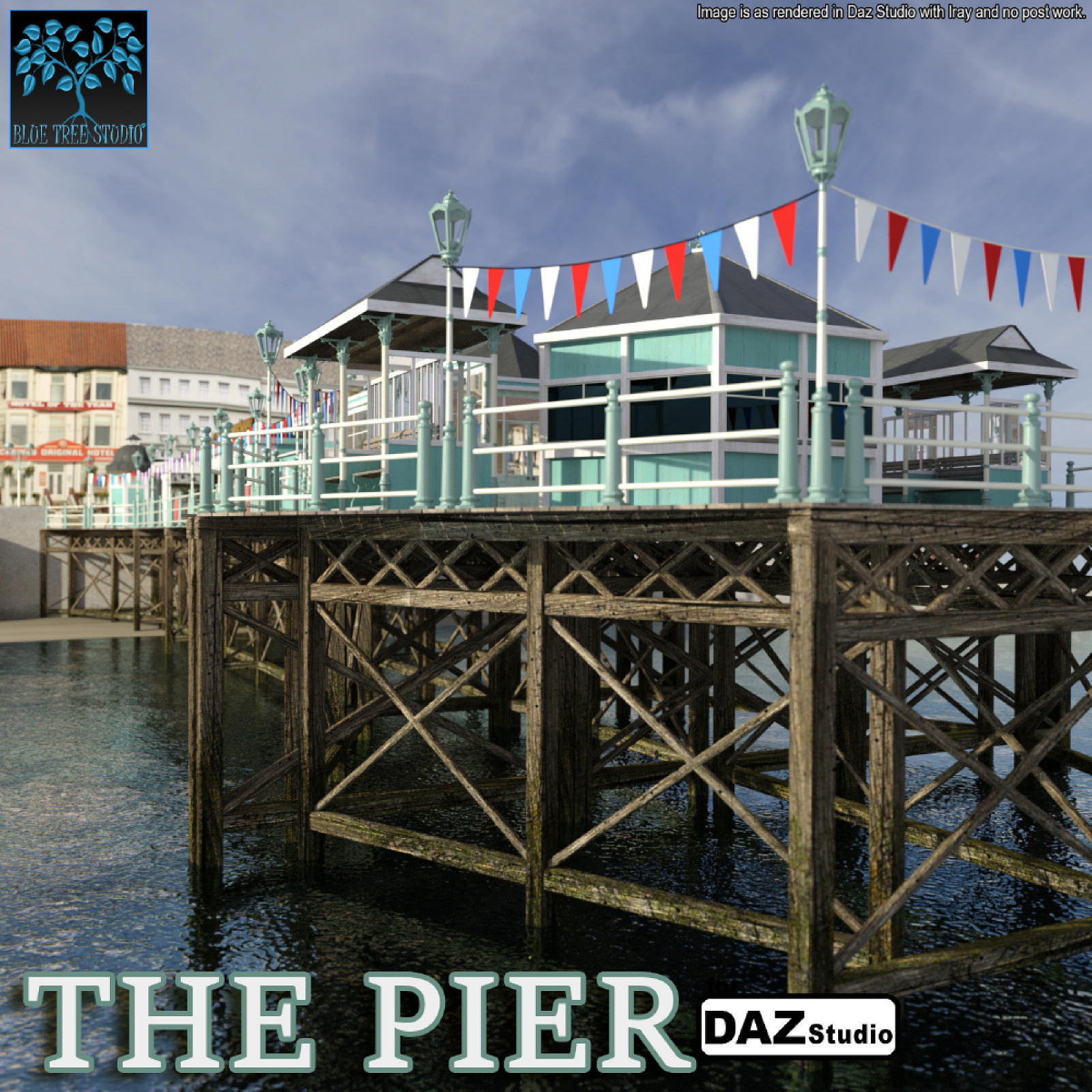The Pier for Daz Studio by BlueTreeStudio