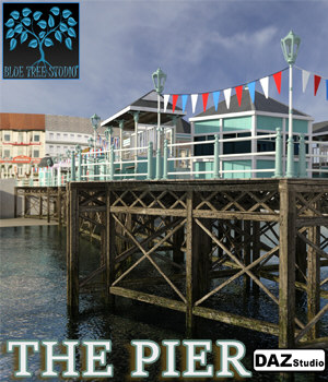 The Pier for Daz Studio 3D Models BlueTreeStudio