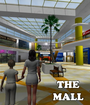 The Mall 3D Models greenpots