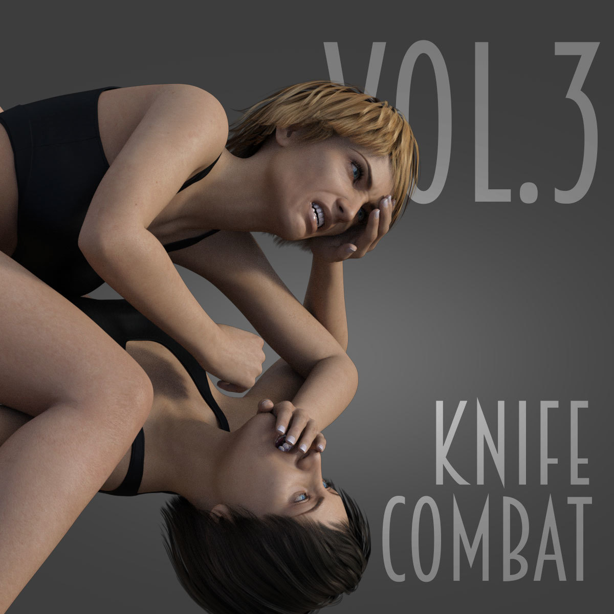 Knife Combat vol.3 for Genesis 8 Female by PainMD