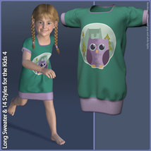 Long Sweater and 14 Styles for the Kids 4 image 1