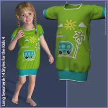 Long Sweater and 14 Styles for the Kids 4 image 2