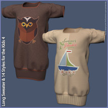 Long Sweater and 14 Styles for the Kids 4 image 7
