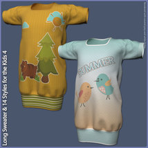 Long Sweater and 14 Styles for the Kids 4 image 8