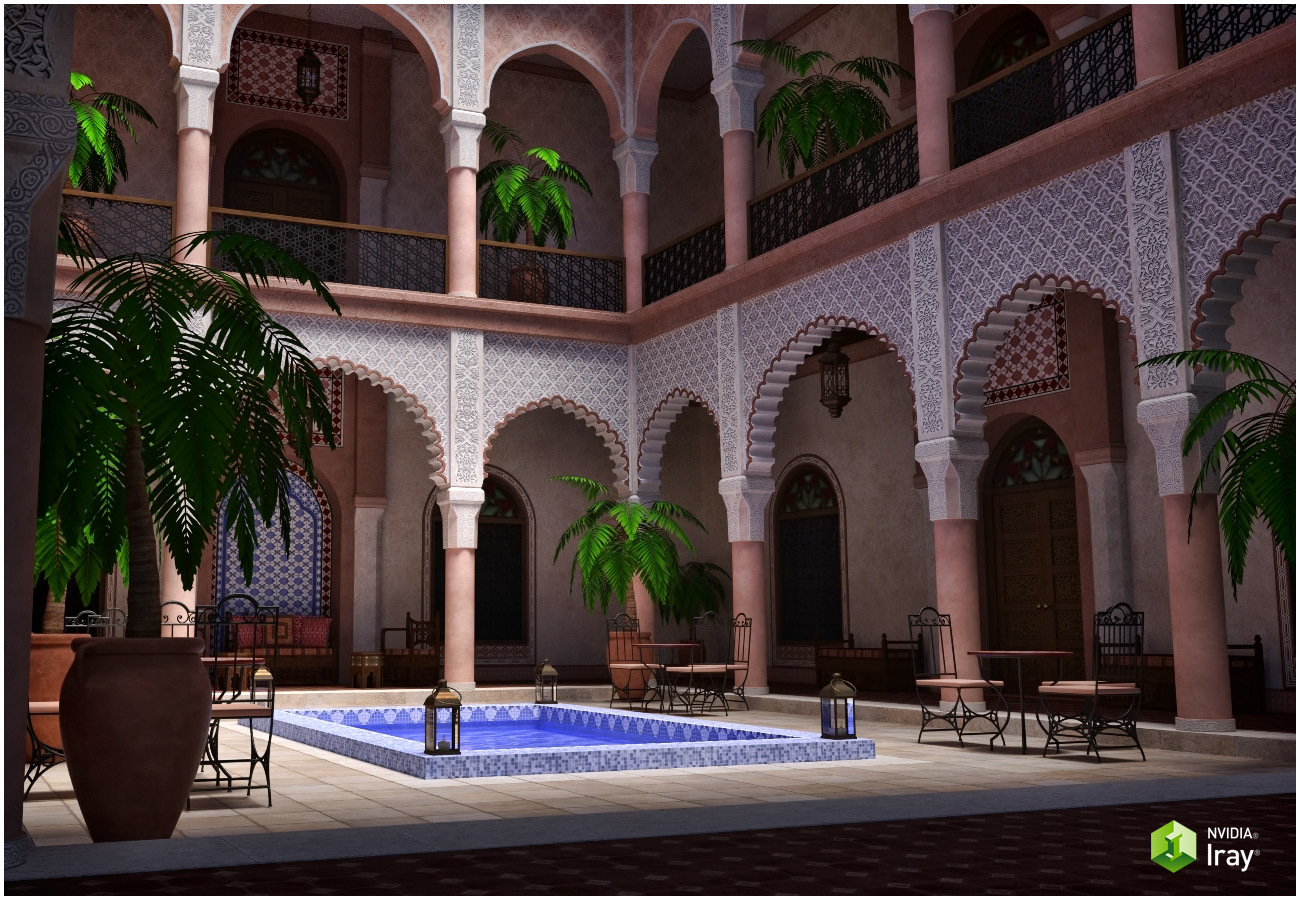 Moroccan Riad by RPublishing