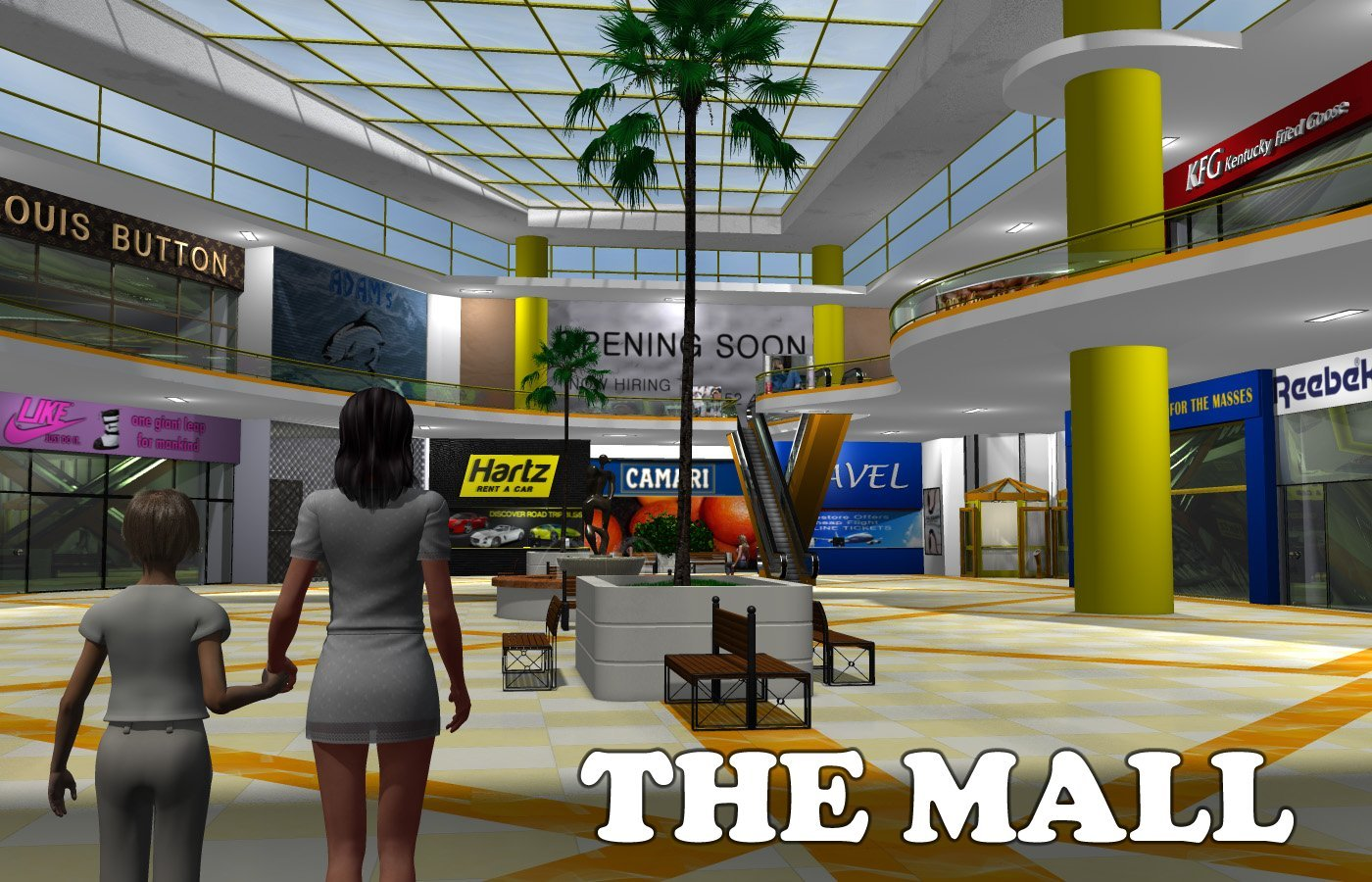 The Mall - Extended License