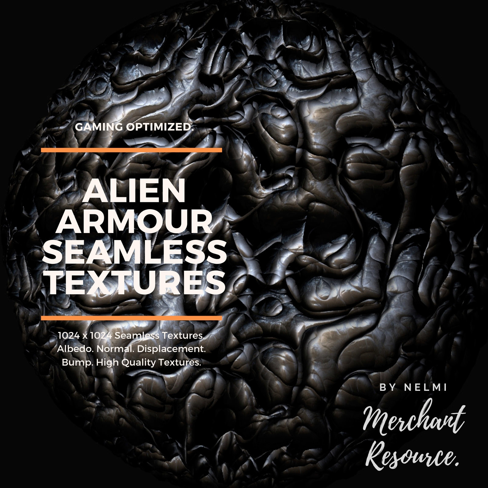 Alien Armour Seamless Textures - Merchant Resource by nelmi