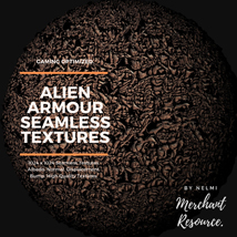 Alien Armour Seamless Textures - Merchant Resource image 1