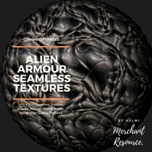 Alien Armour Seamless Textures - Merchant Resource image 3
