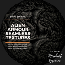 Alien Armour Seamless Textures - Merchant Resource image 5