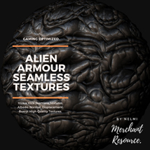 Alien Armour Seamless Textures - Merchant Resource image 6