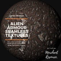 Alien Armour Seamless Textures - Merchant Resource image 8