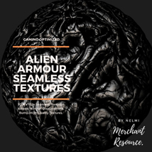 Alien Armour Seamless Textures - Merchant Resource image 9