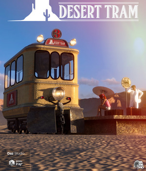 Desert Tram for DS 3D Models pamawo