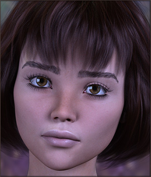 TDT-Albina for Genesis 8 Female 3D Figure Assets Deva3D