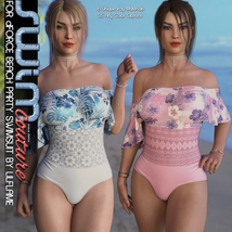 SWIM Couture for dForce Beach Party Swimsuit image 3