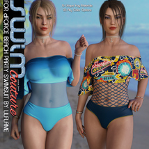 SWIM Couture for dForce Beach Party Swimsuit image 5