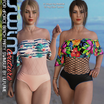 SWIM Couture for dForce Beach Party Swimsuit image 6
